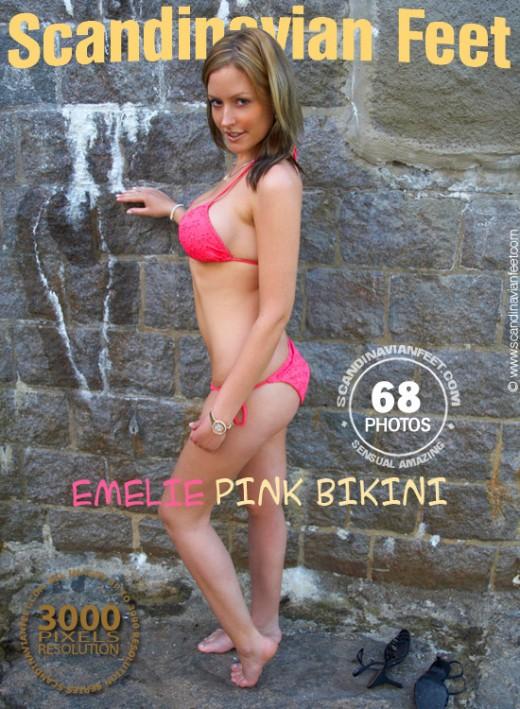Emelie - `Pink Bikini` - for SCANDINAVIANFEET