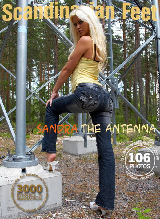 Sandra - `The Antenna` - for SCANDINAVIANFEET