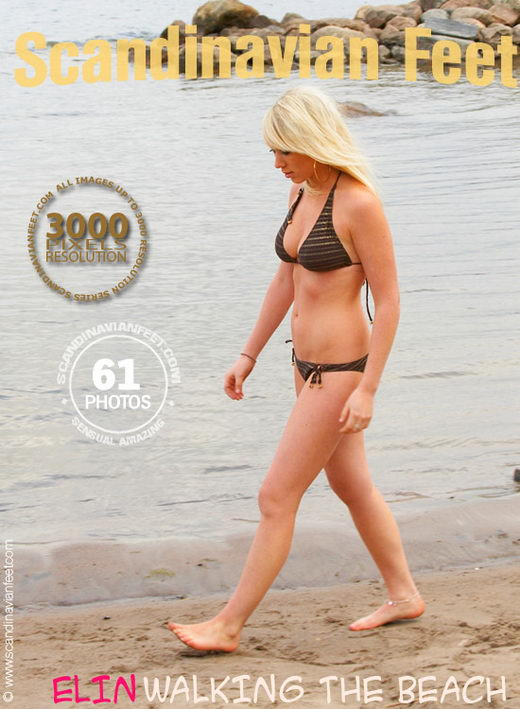 Elin - `Walking On The Beach` - for SCANDINAVIANFEET