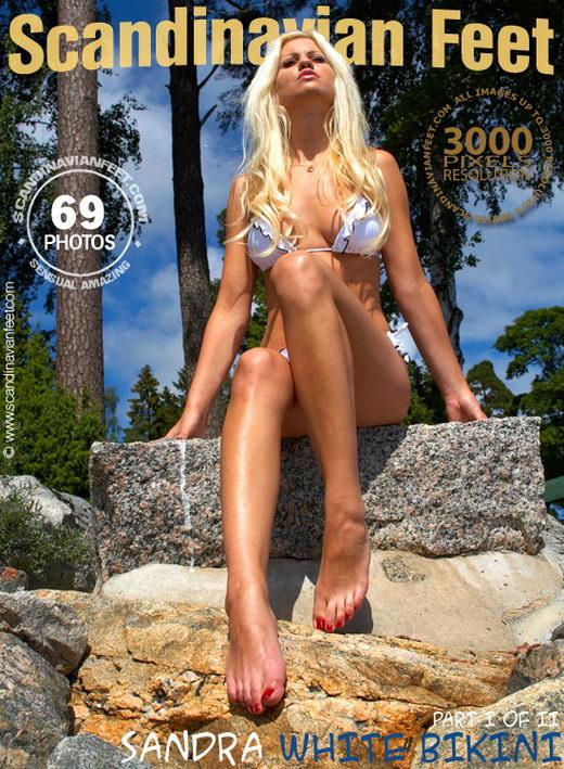 Sandra - `White Bikini` - for SCANDINAVIANFEET