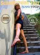 Jenny in Stairs gallery from SCANDINAVIANFEET