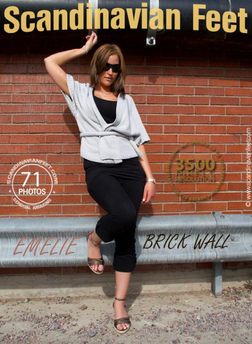 Emelie - `Brick Wall` - for SCANDINAVIANFEET
