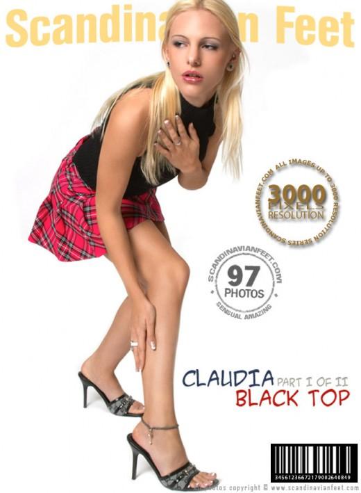 Claudia - `Black Top - Part 1` - for SCANDINAVIANFEET