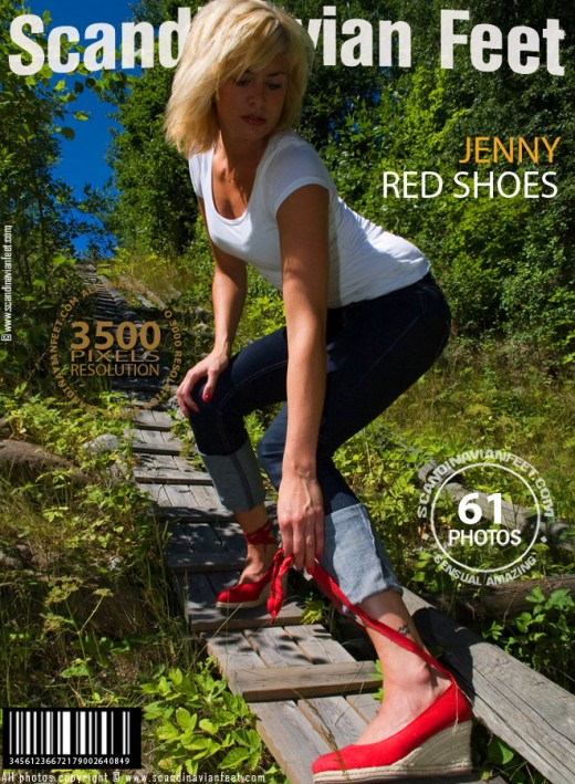 Jenny - `Red Shoes` - for SCANDINAVIANFEET