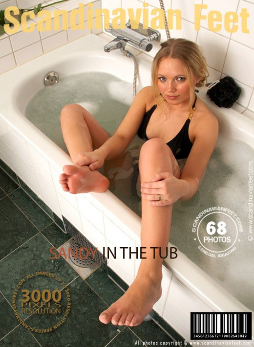 Sandy - `In The Tub` - for SCANDINAVIANFEET