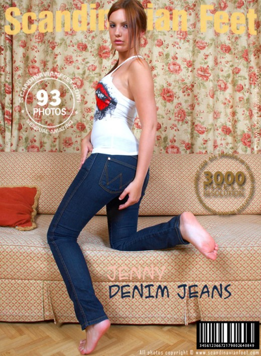 Jenny - `Denim Jeans` - for SCANDINAVIANFEET