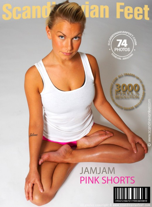 Jamjam - `Pink Shorts` - for SCANDINAVIANFEET