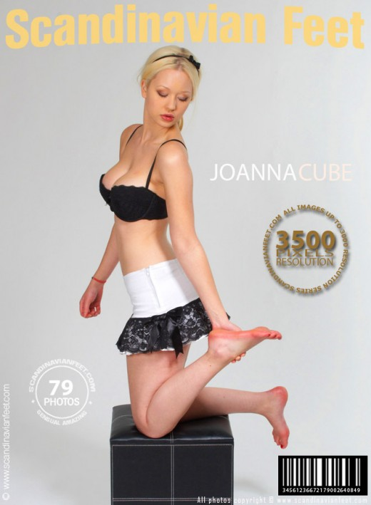 Joanna - `Cube` - for SCANDINAVIANFEET