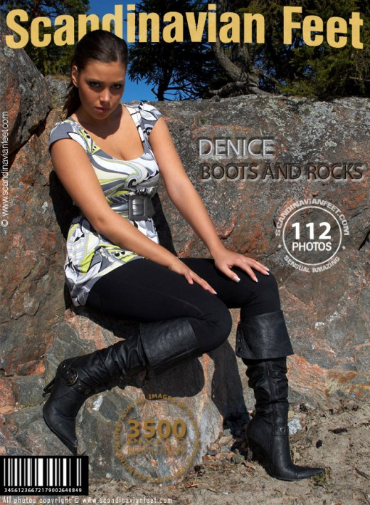 Denice - `Boots And Rocks` - for SCANDINAVIANFEET