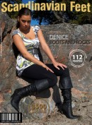 Denice in Boots And Rocks gallery from SCANDINAVIANFEET