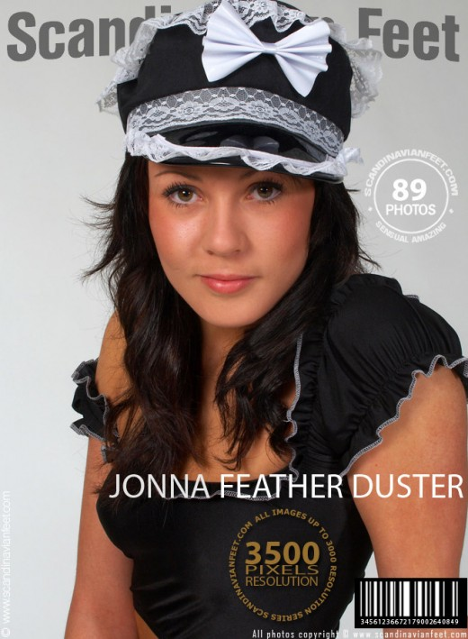 Jonna - `Feather Duster` - for SCANDINAVIANFEET