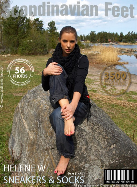 Helene W - `Sneakers & Socks - Part 2` - for SCANDINAVIANFEET