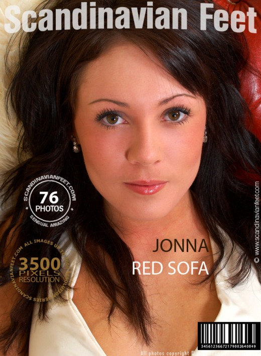 Jonna - `Red Sofa` - for SCANDINAVIANFEET