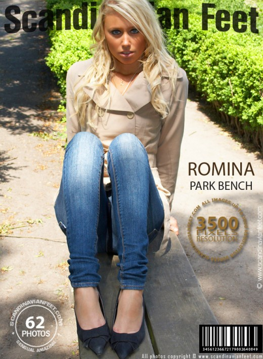 Romina - `Park bench` - for SCANDINAVIANFEET