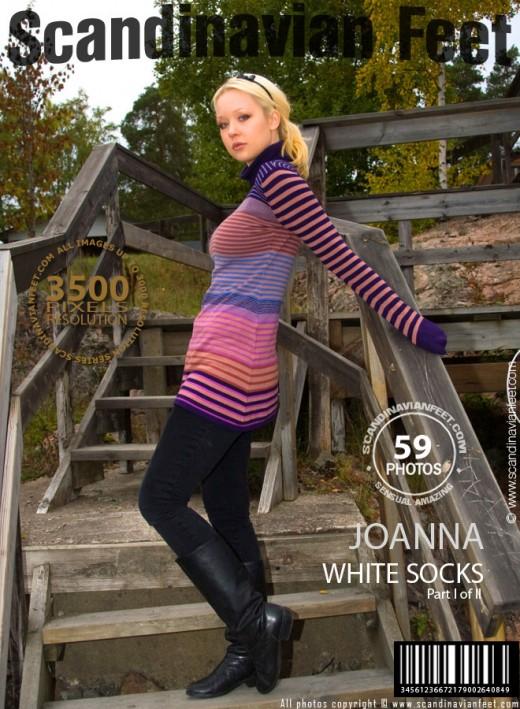 Joanna - `White Socks - Part 1` - for SCANDINAVIANFEET