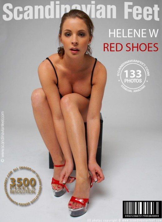 Helene W - `Red Shoes` - for SCANDINAVIANFEET