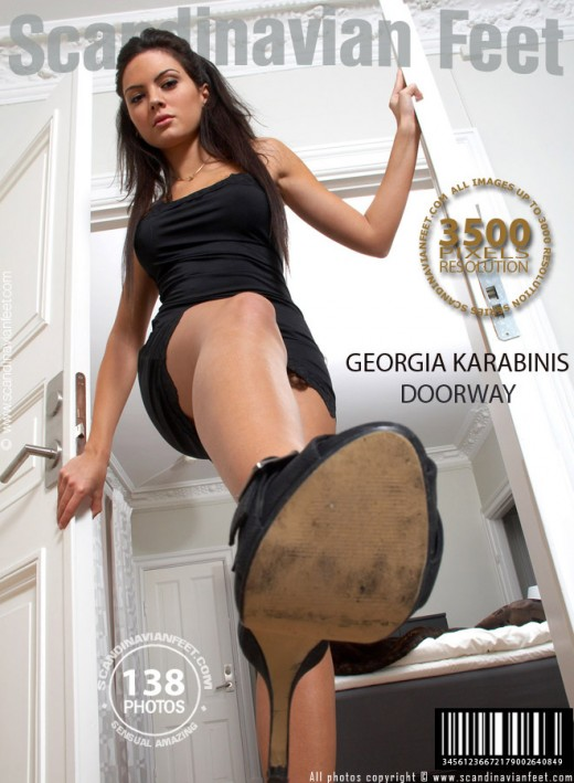 Georgia Karabinis - `Doorway` - for SCANDINAVIANFEET