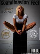 Jenny in Black Cube gallery from SCANDINAVIANFEET