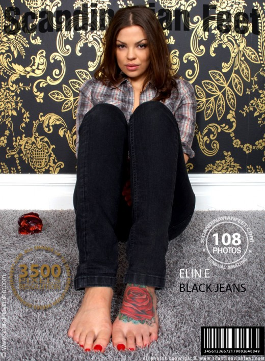 Elin E - `Black Jeans` - for SCANDINAVIANFEET