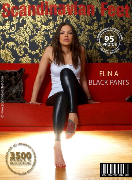 Elin A - `Black Pants` - for SCANDINAVIANFEET