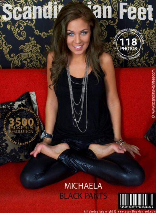 Michaela in Black Pants gallery from SCANDINAVIANFEET