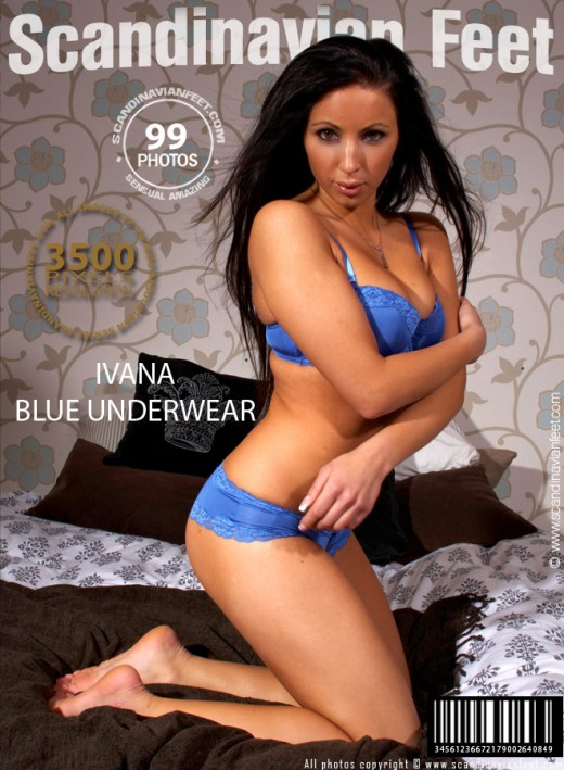 Ivana - `Blue Underwear` - for SCANDINAVIANFEET