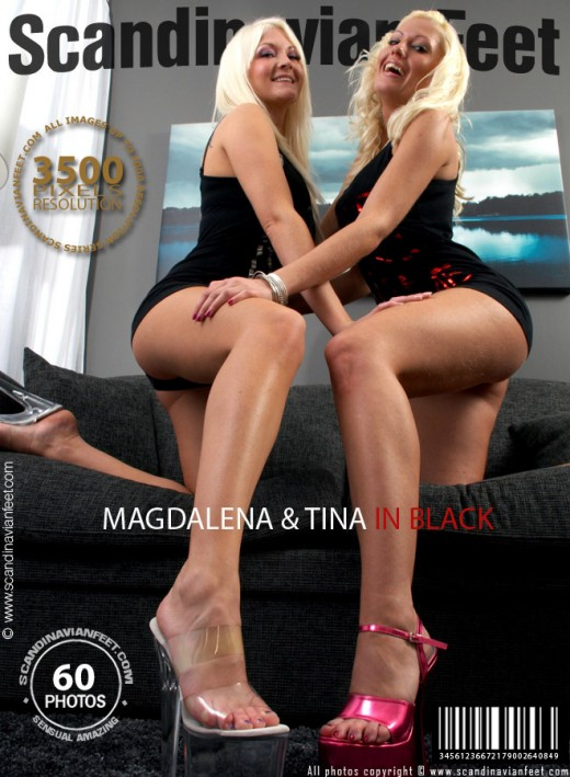 Magdalena & Tina - `In Black` - for SCANDINAVIANFEET
