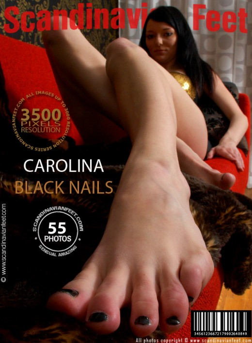 Carolina - `Black Nails` - for SCANDINAVIANFEET