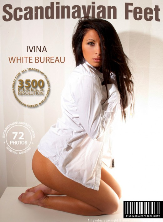 Ivina - `White Bureau` - for SCANDINAVIANFEET
