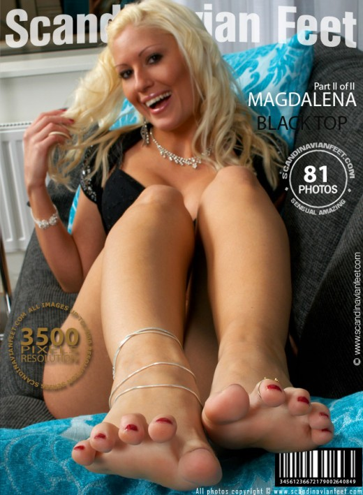 Magdalena - `Black Top - Part 2` - for SCANDINAVIANFEET