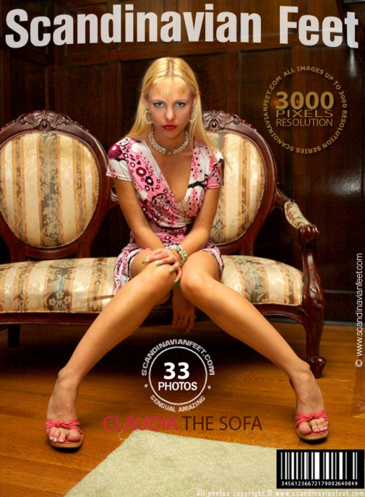 Claudia - `The Sofa` - for SCANDINAVIANFEET