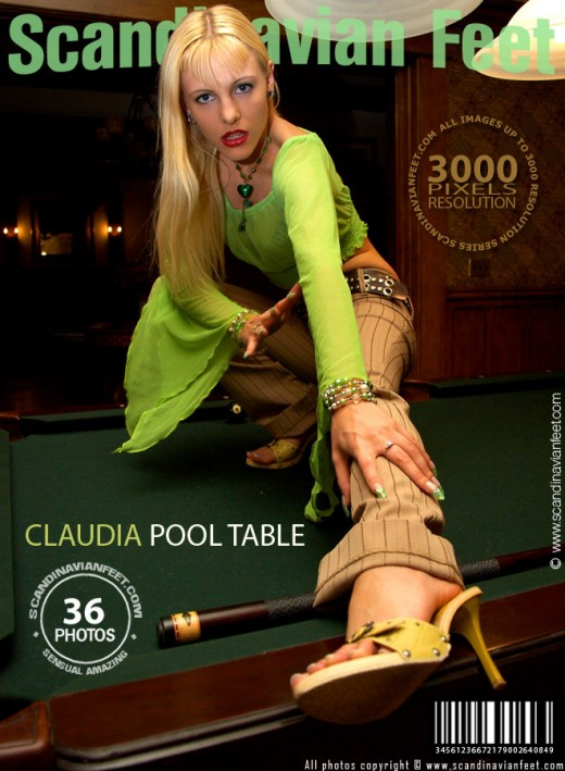Claudia - `Pool Table` - for SCANDINAVIANFEET
