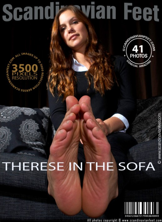 Therese - `In The Sofa` - for SCANDINAVIANFEET