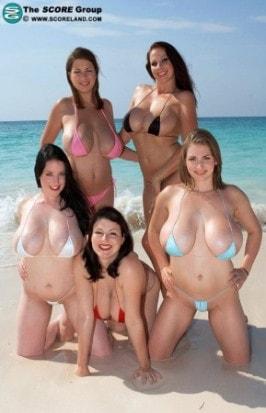 Vintage nipples big tits