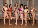 Christy Marks & Jasmine Black & Karina Hart & Melissa Mandlikova & Terry Nova in Hungarian Lineup video from SCORELAND