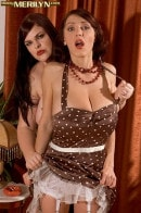 Merilyn And Jelena A Spanking Good Time