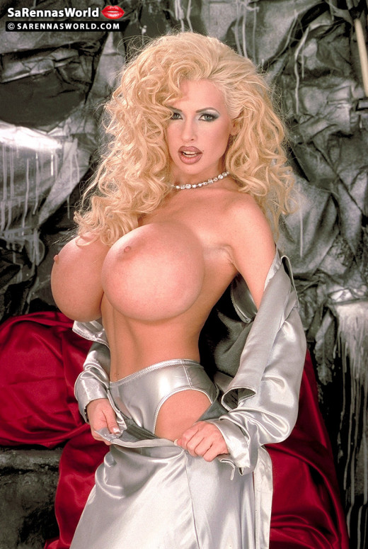 Sarenna Lee in Silver Dress gallery from SCORELAND