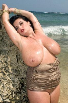 Speaking, would Arianna sinn bikini bust out not