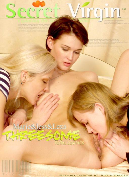 Marie & Jess & Lexa - `Threesome` - for SECRETVIRGIN