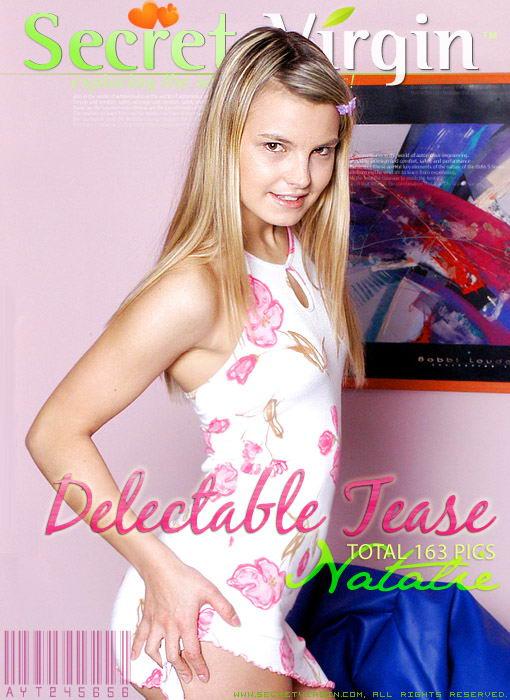 Natalie - `Delectable Tease` - for SECRETVIRGIN