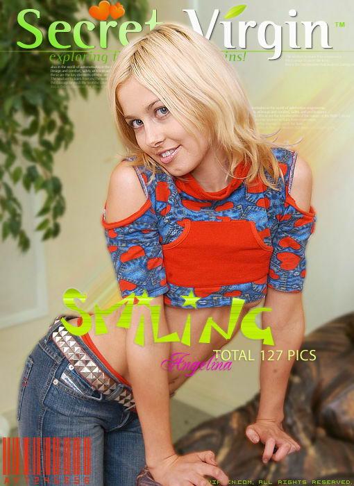Angelina - `Smiling` - for SECRETVIRGIN