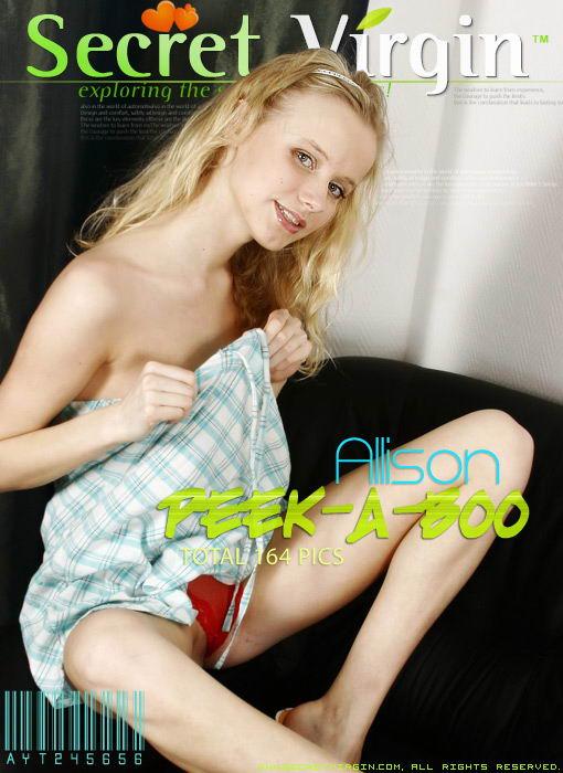 Allison - `Peek-A-Boo` - for SECRETVIRGIN