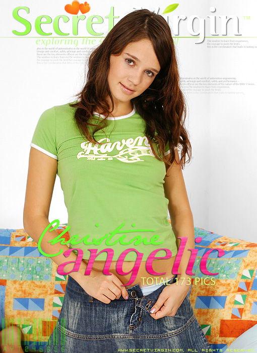 Christine - `Angelic` - for SECRETVIRGIN