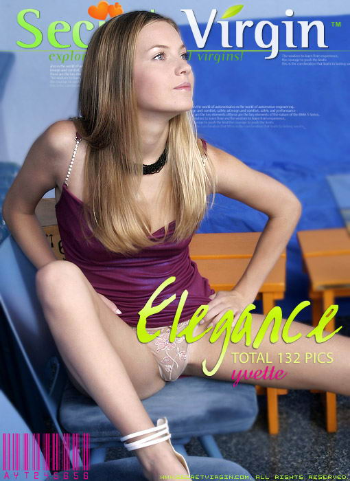 Yvette - `Elegance` - for SECRETVIRGIN