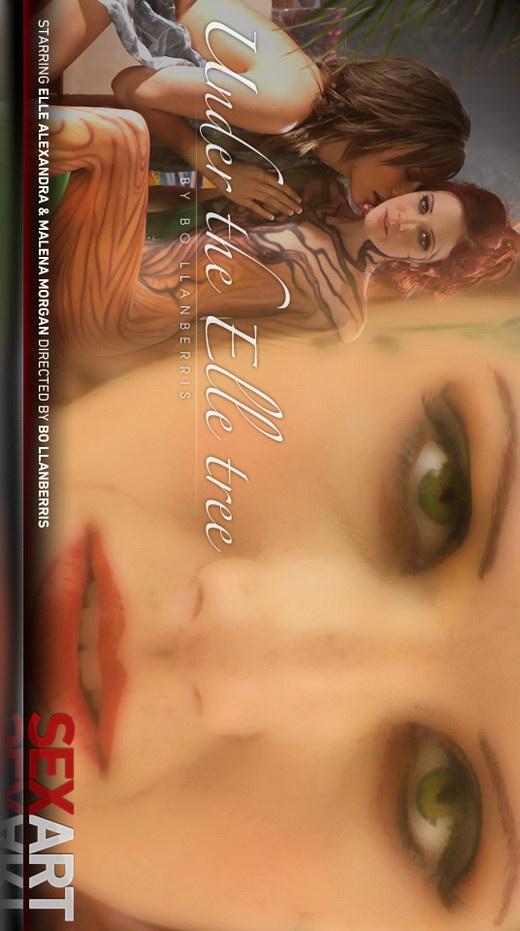 Elle Alexandra & Malena Morgan - `Under The Elle Tree` - by Bo Llanberris for SEXART VIDEO
