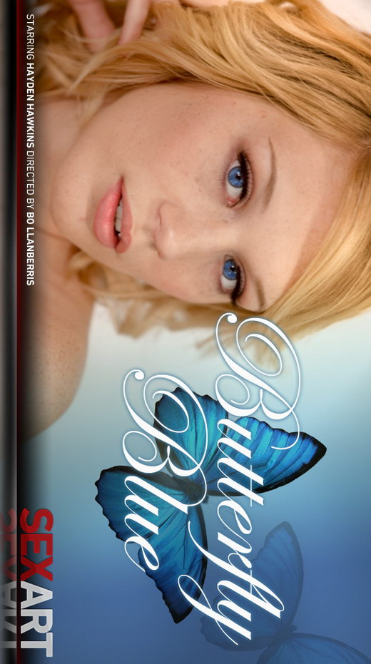 Hayden Hawkins - `Butterfly Blue` - by Bo Llanberris for SEXART VIDEO