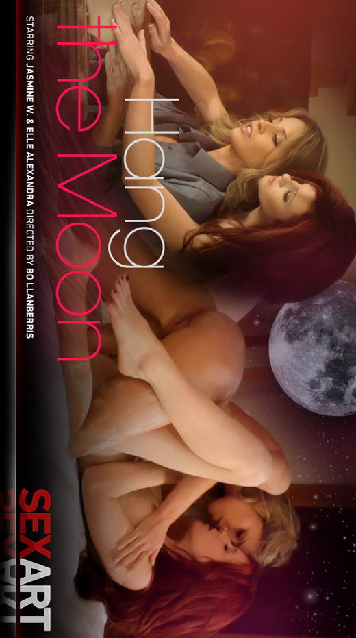 Elle Alexandra & Jasmine W - `Hang The Moon` - by Bo Llanberris for SEXART VIDEO