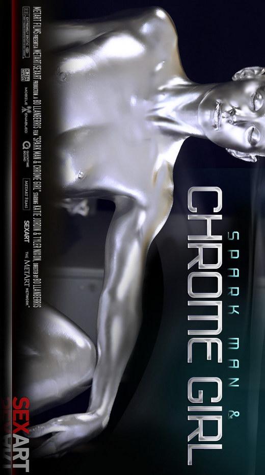 Katie Jordin - `Spark Man Chrome Girl` - by Bo Llanberris for SEXART VIDEO