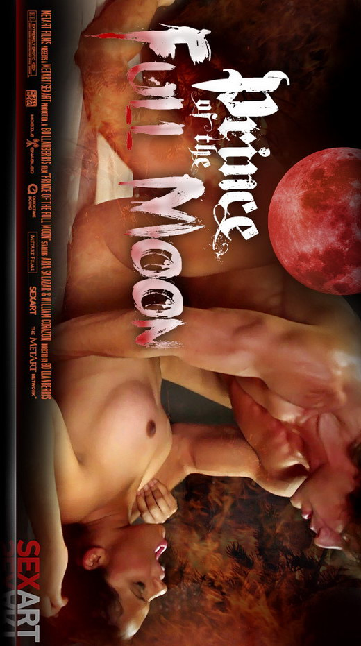Aria Salazar - `Prince Of The Full Moon` - by Bo Llanberris for SEXART VIDEO