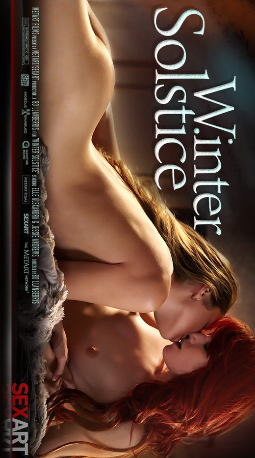 Elle Alexandra & Jessie Andrews - `Winter Solstice` - by Bo Llanberris for SEXART VIDEO